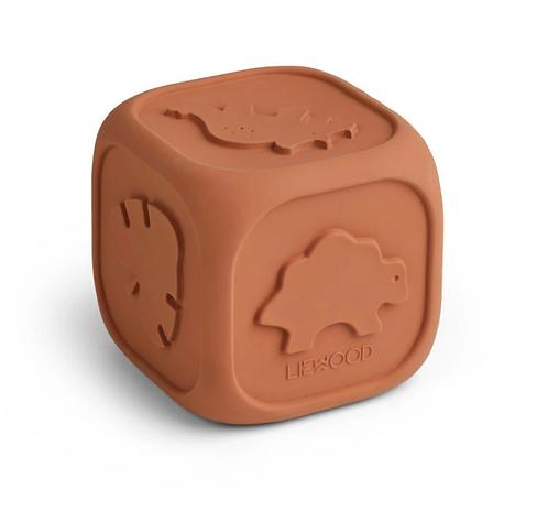 Cube d'éveil rose