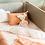 Thumbnail: Nobodinoz - Tour de lit Nest • nid d'abeille laurel green