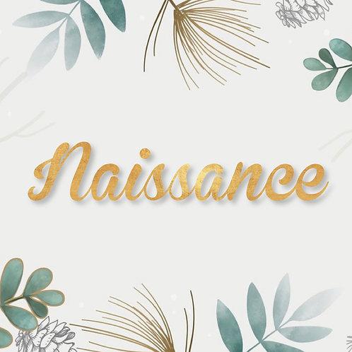 Shooting photo Naissance