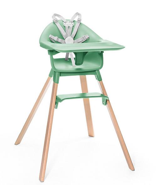 Stokke - Chaise haute clikk verte
