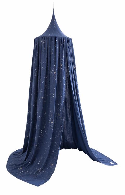 Nobodinoz - Ciel de lit gold Stella night blue