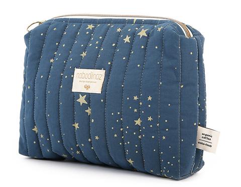 Nobodinoz - Trousse de toilette gold stella/night blue
