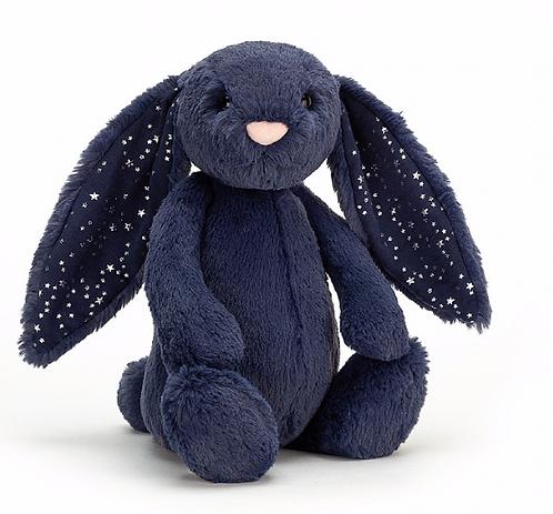 Jellycat - Bashful bunny Bleu stardust