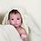 Thumbnail: Babyshower - nid d'ange bunny pois