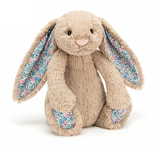 Jellycat - Bashful bunny blossom beige