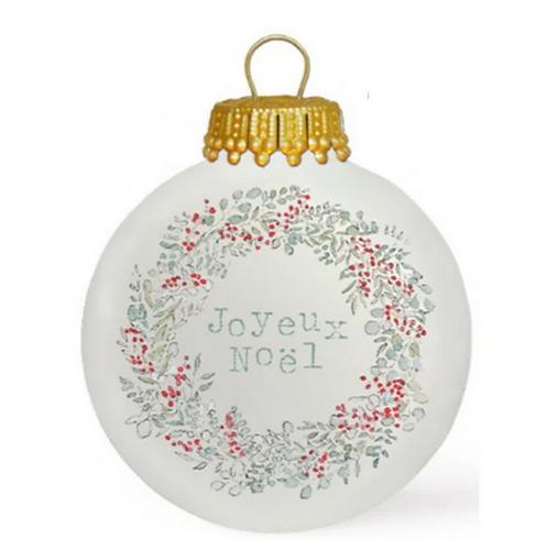 Boule de Noël - Joyeux Noël