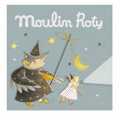 Moulin roty - Recharge Boite de 3 disques il était une fois grise