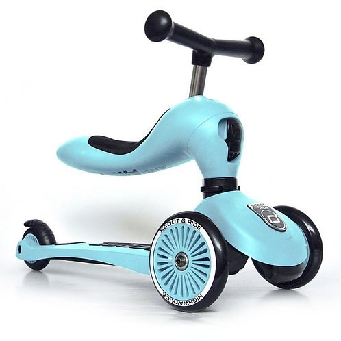 Scoot and ride - Trotinette évolutive bleu