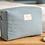 Thumbnail: Nobodinoz - Trousse de toilette nid d'abeille blue