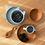 Thumbnail: Set vaisselle silicone moutarde