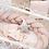 Thumbnail: Tour de lit tressé rose