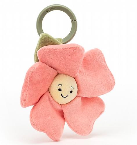 Jellycat - Jouet d'éveil Fleur rose