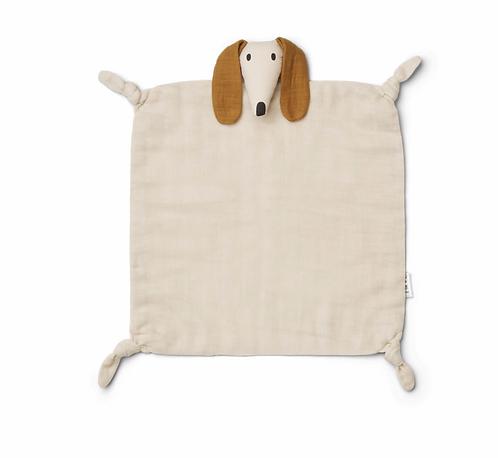 Doudou lange dog sandy