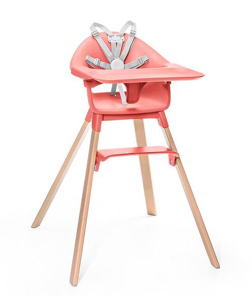 Stokke - Chaise haute clikk Corail