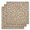 Thumbnail: Konges Slojd - Lot de 3 langes orangery beige