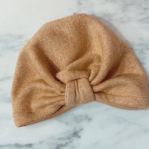 MademoiselleBeuz - Bonnet jaune paillettes