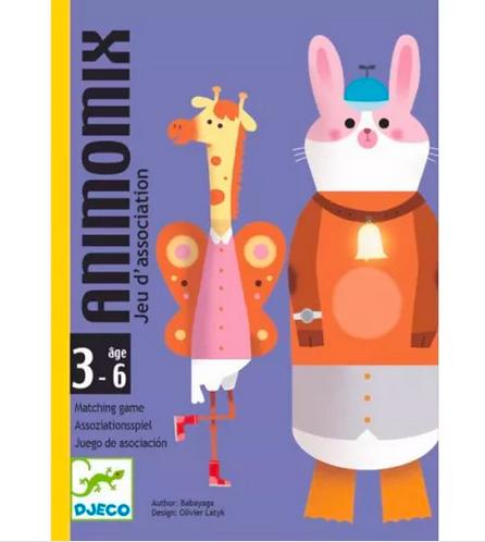 Jeu de cartes :  Animomix
