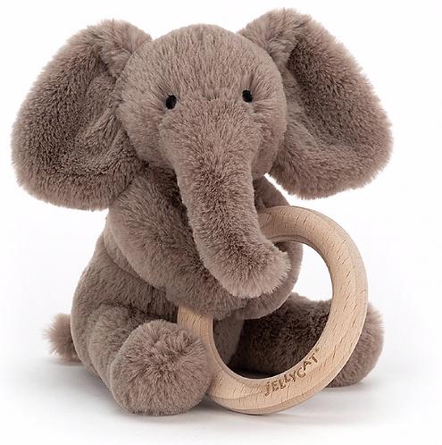 Jellycat - Hochet éléphant
