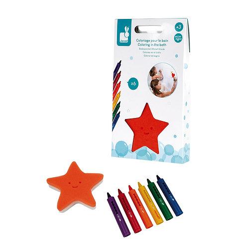 Janod - 6 crayons de bain