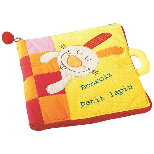 Lilliputiens - Livre Bébé Bonsoir petit lapin