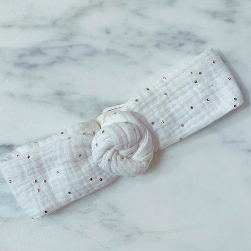 MademoiselleBeuz - Bandeau blanc