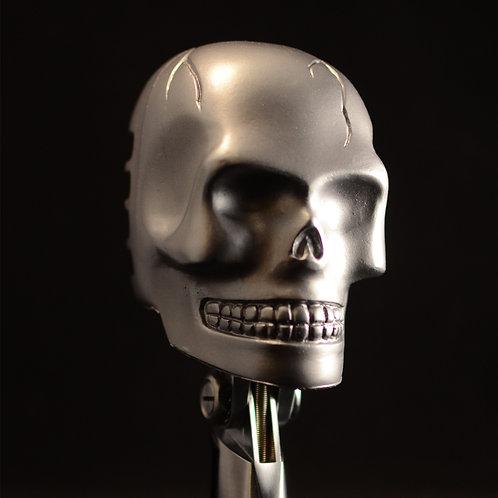 Skull Cover - Silver Tone finish