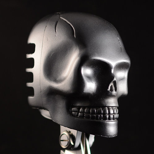 Skull Cover - Gun Metal finish