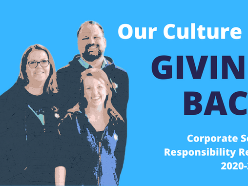 Our Culture of Giving Back: Corporate Social Responsibility