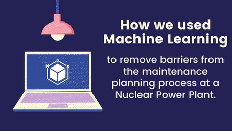 How we used Machine Learning to Remove Barriers from the Maintenance Planning Process