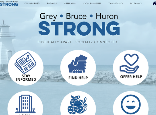 Grey Bruce Huron Strong app, website launched to keep people informed and in touch through Covid-19