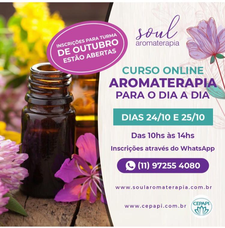 Aromaterapia para o dia a dia