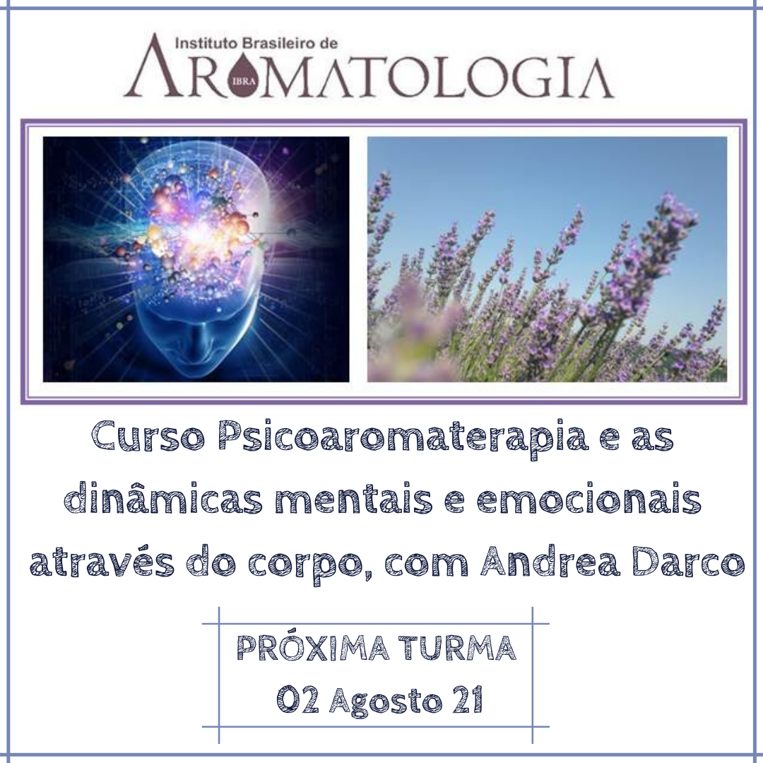 Curso Psicoaromaterapia e as dinâmicas m