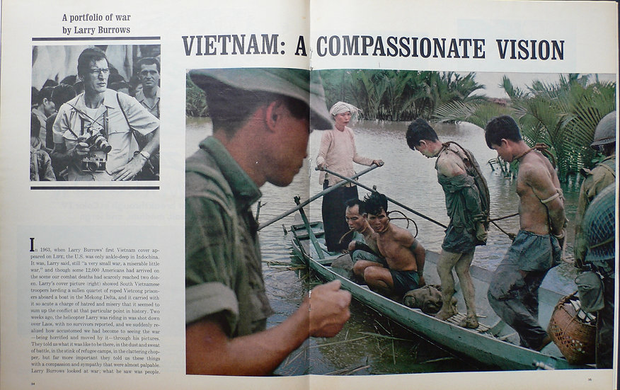 Larry Burrows Vietnam - A Compassionate View Life