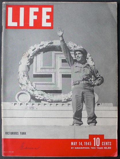 Robert Capa          LIFE magazine, 14th May 1945