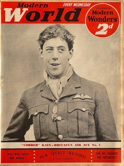 """Edgar """"Cobber"""" Kain 73 Squadron R.A.F. France 1940"""