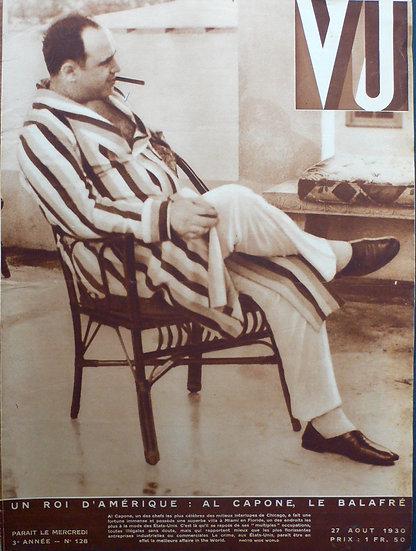 VU Al Capone, Le Balafre 27 Aout 1930