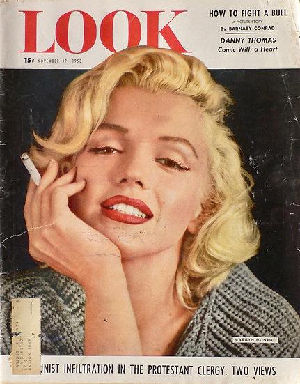 Marilyn Monroe Look 17th November 1953
