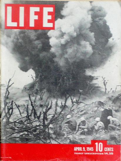 W Eugene Smith Iwo Jima Life 9th April 1945