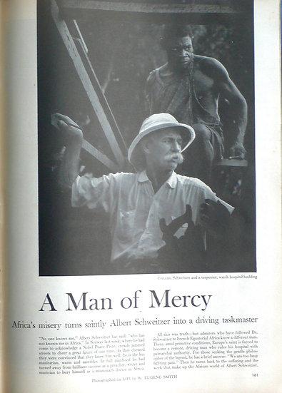 W. Eugene Smith Man of Mercy Life 15th November 1954