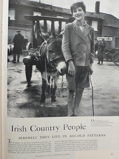 Doreathea Lange Irish Country People Life 21st March 1955