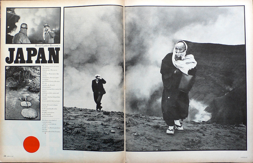 Henri Cartier Bresson Look 1967