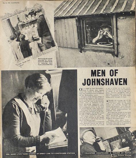 Johnshaven Aberdeenshire Illustrated Jack Esten