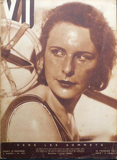 MARTIN MUNKACSI VU 18th February 1931 Leni Riefenstahl