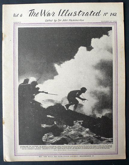 The War Illustrated A.F.P.U. Sgt. Len Chetwyn 27th November 1942