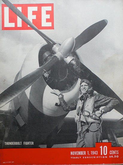 4th Fighter Group 8th Airforce Debden Life Magazine 1st November 1943