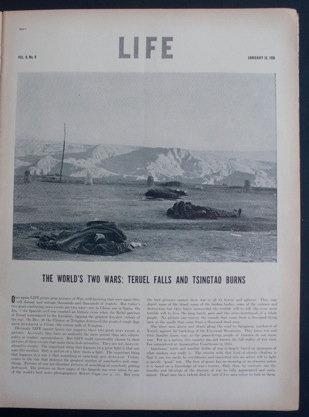 Robert Capa Teruel Life Magazine January 1938