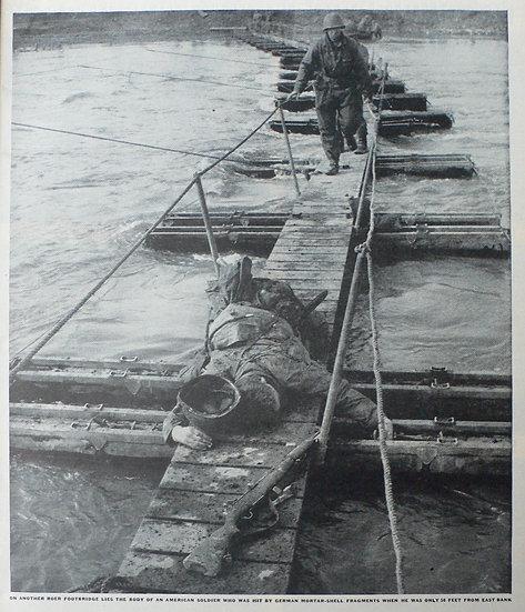 George Silk  Roer Crossing - Jülich - Life 12th March 1945