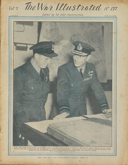 The War Illustrated June 25th 1943 Guy Gibson V.C.