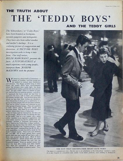 Picture Post Teddy Boys Joseph McKeown 1954