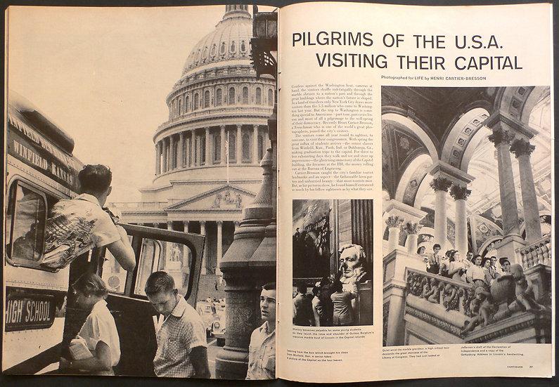 Henri Cartier Bresson Washington D.C. Life 1957